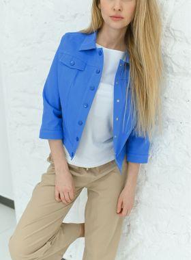 Жакет котоновый blue