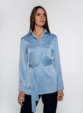 Рубашка атласная