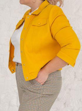 Жакет котоновый Yellow